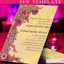 Invitation Template Indian Wedding Cards By Indiantemplatesinc