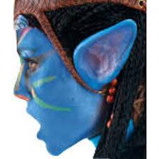 avatar blue costume ears