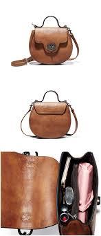Designer Messenger Bags Womens Handmade Full Grain Genuine Leather Shell Bag Women Designer
