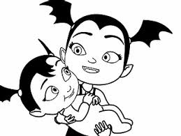 37+ vampirina coloring pages for printing and coloring. Free Printable Disney Junior Vampirina Coloring Pages For Kids