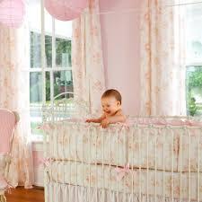 shabby chenille crib bedding pink fl baby girl crib bedding carousel designs