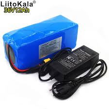 2019 <b>LiitoKala 36V 12AH</b> Electric Bike Battery Built In 20A BMS ...