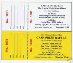 Raffle Event 5000 Raffle Tickets Admission Door Event Custom Printed