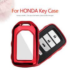<b>KUKAKEY TPU Car Key</b> Holder Shell Bag Case Cover For Honda ...