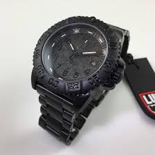 men s luminox navy seal steel blackout diver s watch 3152 bo