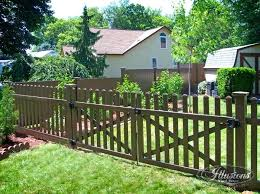 brown vinyl picket fence. Brown Vinyl Fencing Illusions Fence Best With By The Color Dark Picket Techdirt.club