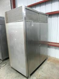 two sided door fridge victory double entry commercial refrigerator inc
