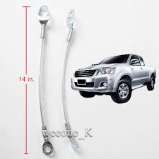 Strap Tailgate Wire Cable Rear Tail Gate Toyota Hilux Vigo SR5 MK6 ...