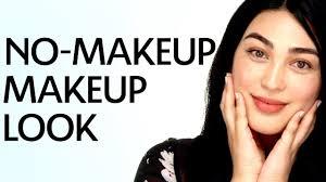 no makeup look tutorial sephora