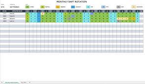 Printable Weekly Schedule Maker Work Schedule Template Monthly Crew App Free Employee Word