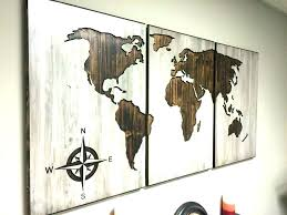 world map metal wall art wood and metal wall art wooden and metal wall art world