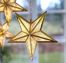 Led Lichterkette Sterne Weihnachten Gold 3x5 Leds Warmweiß