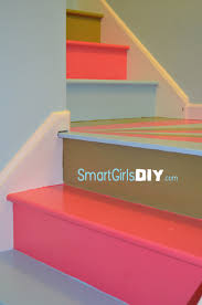 Awesome Painted Basement Stairs Stairs Design Photos Modern - Painted basement stairs
