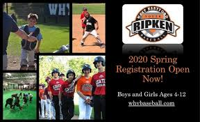 Cal Ripken Baseball Age Chart 2018 West Hartford Youth Baseball League News