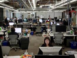 silicon valley office. Facebook Employees Work At Their Offices In Menlo Park, Calif., Wednesday Morning, Silicon Valley Office