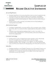 Resume Objective Summary Examples Free Resume Template Evacassidyme Gorgeous How To Write An Objective Resume