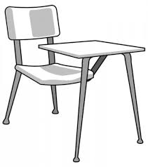 student desk clipart black and white. top student desk clipart black and white