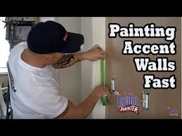 painting an accent wall quickly paint