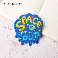 <b>Space Iron</b> on Letters Patches Hippie Clothing Stickers | Shopee ...