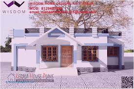 house plans with flat roof awesome home plan kerala low bud