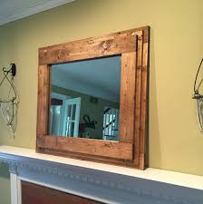 wood mirror frame. Gallery Images Of The Simple Bathroom Mirror Frames Wood Frame S