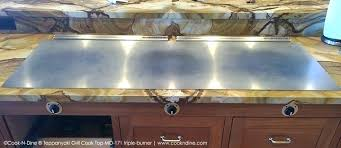 built in teppanyaki grill for home outdoor kitchen grill electric built in griddle hibachi island kitchen