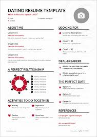 Dating Resume Sick Of Dating Apps See How The Dating Resume Might Change The Game 2