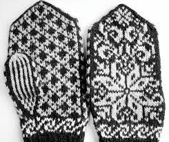 Mittens Pattern Enchanting Erlends Mittens Pattern Selbu Pattern Knitting Chart Etsy