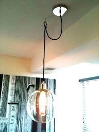 swag pendant light swag light hanging swag lamp pendant light hook chandeliers medium size of kitchen