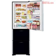 Tủ lạnh 3 cánh Hitachi 375 lít SG38PGV9X (GBK) - Tủ lạnh ngăn đá dưới trong  2020