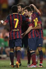 Goals Bt Ween Messi And Neymar Jr FC Barcelona v Thailand XI Messi 24 Neymar jr and Lionel messi 8 115616