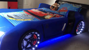 car beds blue r8 extreme the ultimate car bed for kids youtube . car beds  ...