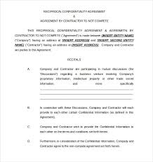 Noncompete Clause 8 Non Compete Agreement Templates Doc Pdf Free Premium Templates