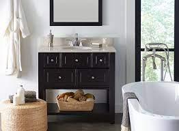 Choosing A Bathroom Vanity Sizes Height Depth Designs More Hayneedle