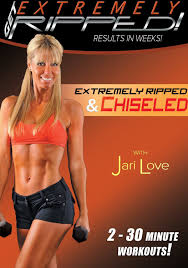 extremely ripped chiseled with jari love fitness dvd review