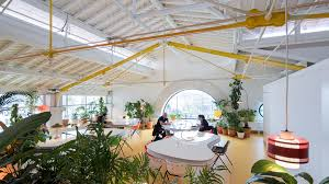 selgas cano architecture office. The Bend Of L Has Some Individual Meeting Tables, And Shorter Arm Houses A Library Café. Photography By Iwan Baan Selgas Cano Architecture Office