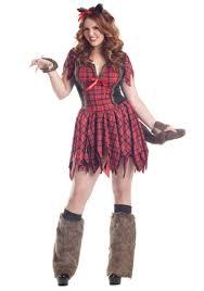 women s plus size y werewolf costume