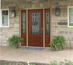 sidelights doors front doors with glass panels contemporary 500iso com intended for 17