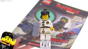 LEGO Ninjago Movie Cole minifig from the Garmadon Attack book! - YouTube