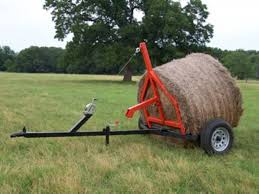 REDUCED! - Bale Mover - Move 1800 lb Round Bales w/Truck or Quad for ...