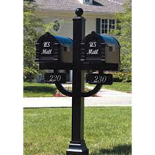 Residential Mailboxes Gaines Multi Mount Locking Keystone