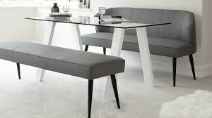 modern dining table with bench. Three Seater Modern Dining Bench Table With