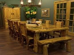 image of country style kitchen table