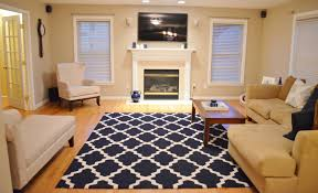 Modern Living Room Rugs Navy Rug Living Room Living Room Design Ideas