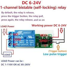 <b>DC 5</b>-<b>24V 2A</b> Self-locking bistable Reverse Polarity Switch ...