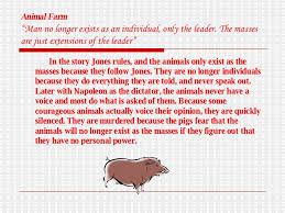 animal farm theme analysis essay animal satire in animal farm animal farm themes gradesaver