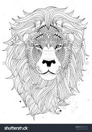 Small Picture Lion Coloring Pages For Adults Lion Coloring Pages Printable