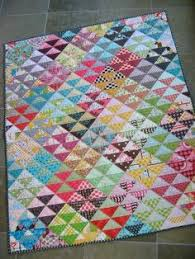 Scrappy Half Square Triangle block and quilt design | Teaching ... & Scrappy Half Square Triangle block and quilt design | Teaching Quiltings |  Pinterest | Quilt, Half and Quilt designs Adamdwight.com