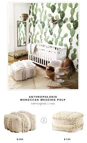 Floor Pillows And Poufs Anthropologie Moroccan Wedding Pouf Copycatchic