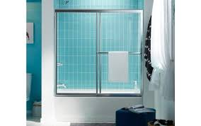 home menards corner depot custom sweep gorgeous single ove door bathtub frameless for shower sterling basco